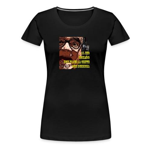 Caro Carlo mio somaro - Maglietta Premium da donna