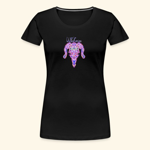 harlekinshirt1 2 - Frauen Premium T-Shirt