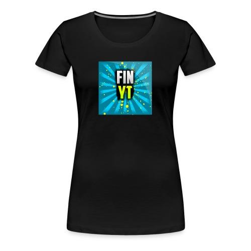 Uusi Youtube Logo - Naisten premium t-paita