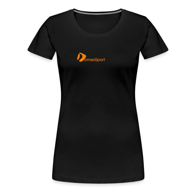 Logo DomesSport Orange noBg - Frauen Premium T-Shirt