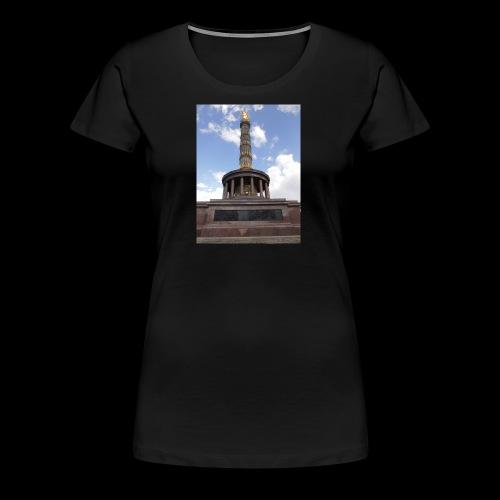 Die Siegessäule - Frauen Premium T-Shirt