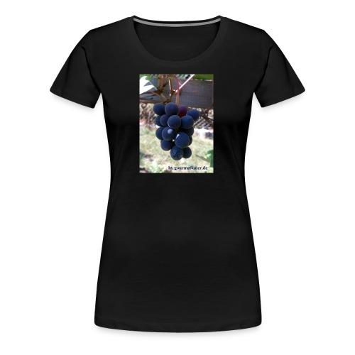 Traube - Frauen Premium T-Shirt