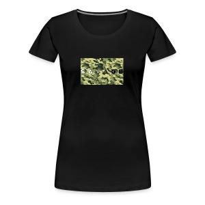 savage camo premium - Frauen Premium T-Shirt