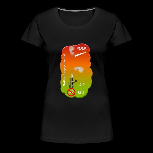 Gefährdungspotenzial - Frauen Premium T-Shirt