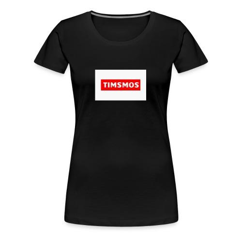 Timsmos Logo Youtube - Premium-T-shirt dam