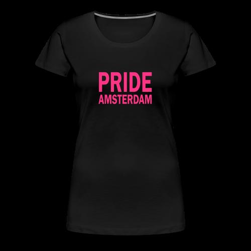Pride Amsterdam in roze - Vrouwen Premium T-shirt
