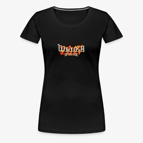 Wanka Open Air 2017 Muerte al Falso Metal - Camiseta premium mujer