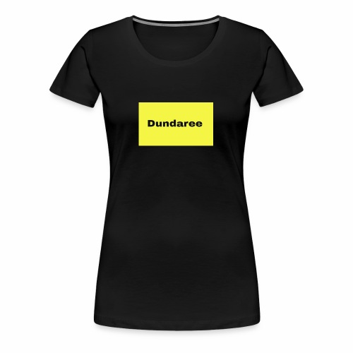 yellow & black dundaree gear - Women's Premium T-Shirt