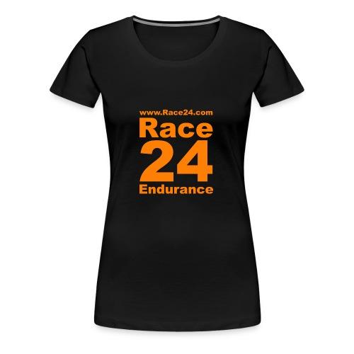 Race24 Logo in Orange - Women's Premium T-Shirt
