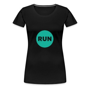 Run - Frauen Premium T-Shirt
