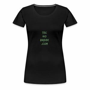 TecnoBreak Verde - Camiseta premium mujer