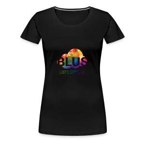 BLUS: Original Logo - Dame premium T-shirt