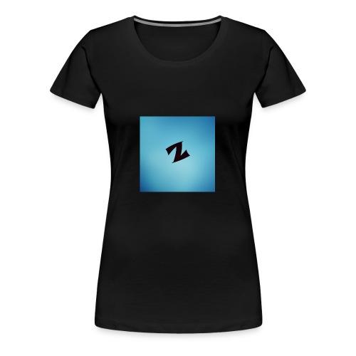 ZyproPlays logo - Women's Premium T-Shirt
