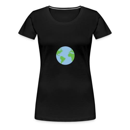 The Earthling - Frauen Premium T-Shirt