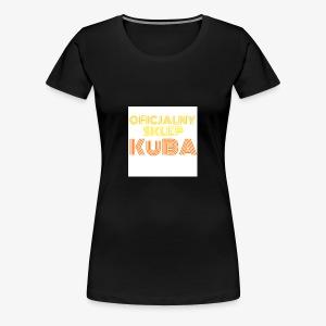 KuBA - JESTEM FANEM I NOSZĘ TO Z DUMĄ - Koszulka damska Premium