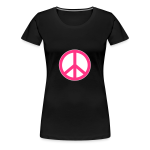 Peace, Love and Happiness - Vrouwen Premium T-shirt