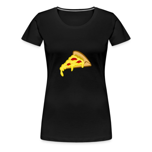 If it fits my macros Pizza - Vrouwen Premium T-shirt