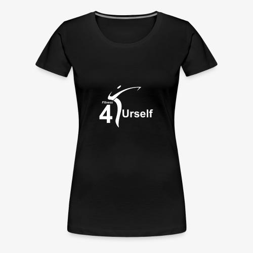Logo Fitness 4 Urself - Frauen Premium T-Shirt