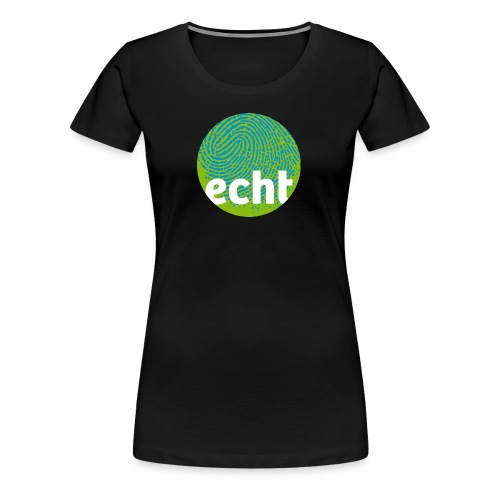 echt.cloppenburg Stadtmarke Grün - Frauen Premium T-Shirt