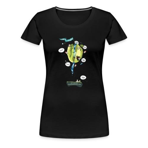 T-shirt Maison de L'aventure - T-shirt Premium Femme