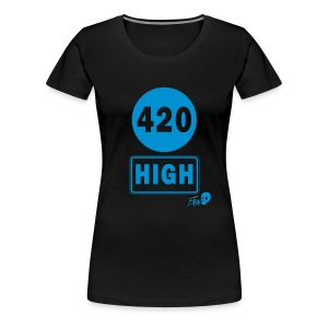 420 HIGH - Women's Premium T-Shirt