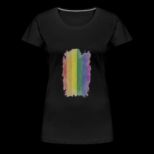 Bandera LGBTI - Camiseta premium mujer
