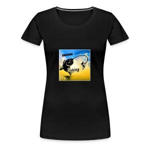 logo passion fishing - T-shirt Premium Femme