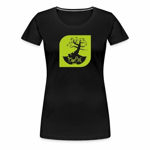 Bonsai Record - Frauen Premium T-Shirt