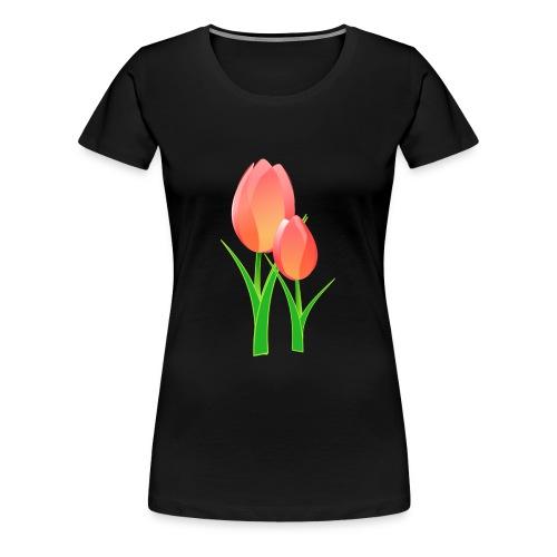 fleur de lotus - T-shirt Premium Femme