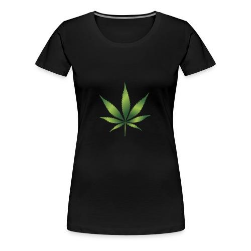 cannabisshirt - Frauen Premium T-Shirt