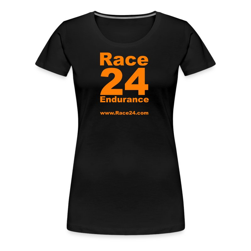 Race24 Large Logo - Women's Premium T-Shirt