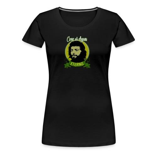 DISEÑO CAMARON COMO EL AGUA - Camiseta premium mujer