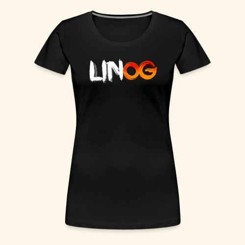 LinOG Logo - Premium-T-shirt dam