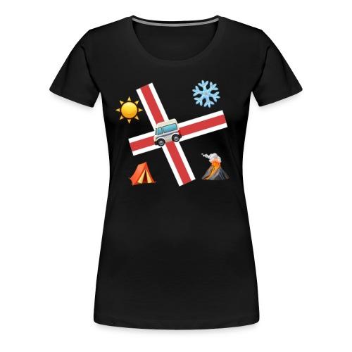 Islandia - Camiseta premium mujer