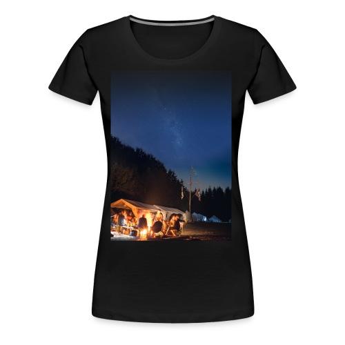 tim lagerfeuer - Frauen Premium T-Shirt