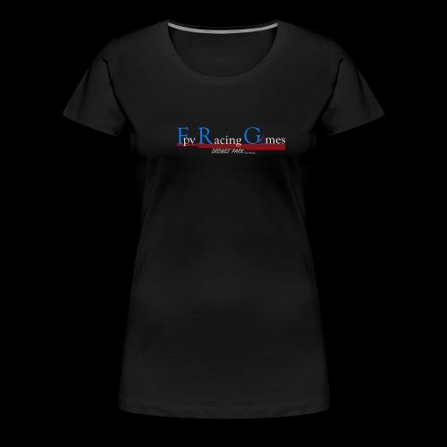 FPV Racing Games nom et logo - T-shirt Premium Femme