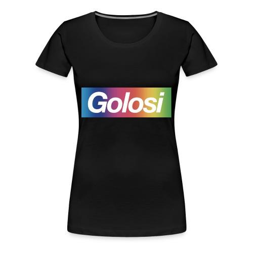 GOLOSI - Maglietta Premium da donna