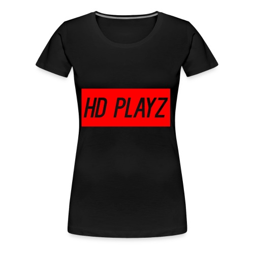 HD Playz DESIGN - Premium T-skjorte for kvinner