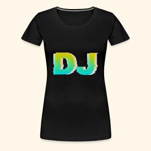 Dj - Koszulka damska Premium