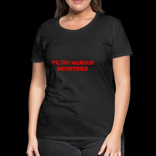 FMI Logo - Women's Premium T-Shirt