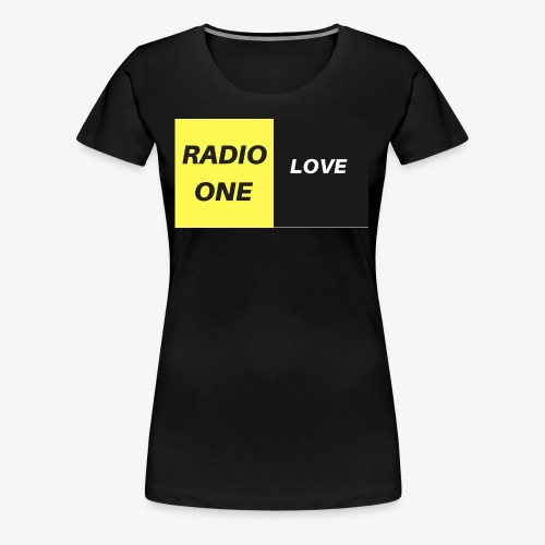 RADIO ONE LOVE - T-shirt Premium Femme
