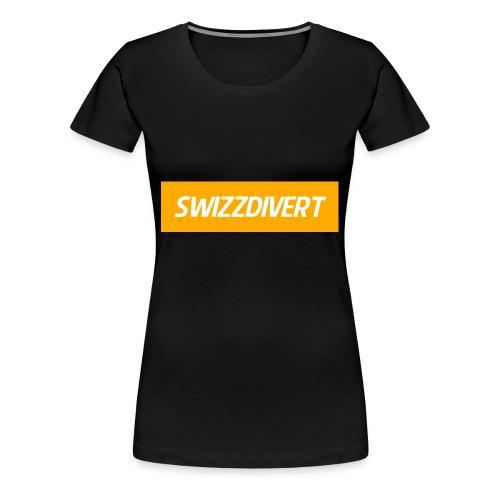 SwizzDivert Banner - Frauen Premium T-Shirt