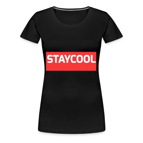 STAYCOOL Aufdruck ohne YETAIS - Frauen Premium T-Shirt