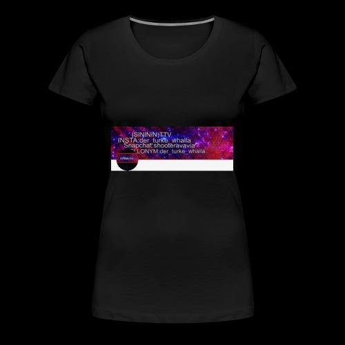 SINININ TTV - Frauen Premium T-Shirt