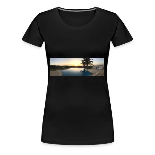 Sunset photo - Women's Premium T-Shirt