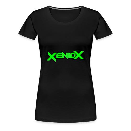 Xeniox Logo - Women's Premium T-Shirt
