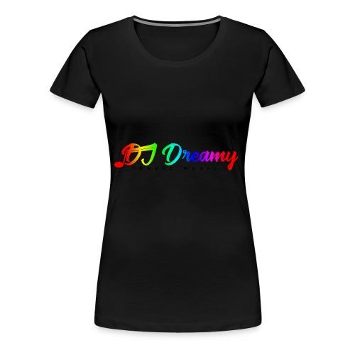 DJ Dreamy Logo PNG Gradient 1 - Women's Premium T-Shirt