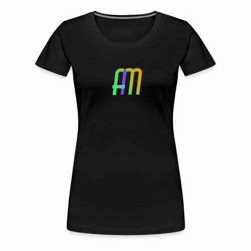 AM Logo - Women's Premium T-Shirt