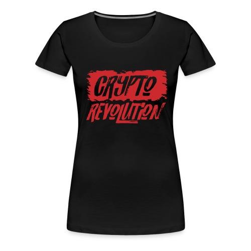 Crypto Revolution - Women's Premium T-Shirt