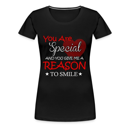 Herz Mama Frauen Geschenk T-Shirt Englisch - Frauen Premium T-Shirt